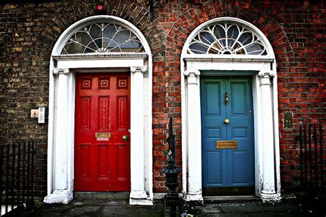 a colorful look behind the doors of dublin huffpost doors of dublin ireland around the world in 80 days