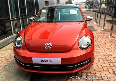 2016 volkswagen new beetle launched in india at rs 28 73