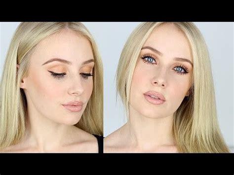eyeshadow tutorial lauren curtis makeup tutorial for fair skin contouring nude lips