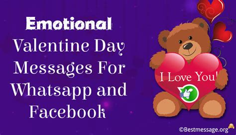 valentines day wishes for my emotional s day wishes messages for and