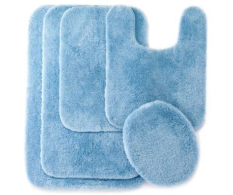 Blue Bathroom Rug by Living Colors Sky Blue Bath Rugs Big Lots