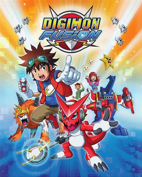 digimon fusion anime ger  anime seriencom