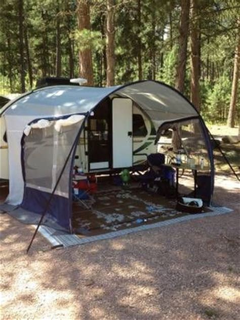 rpod awning forests rivers and types of on pinterest