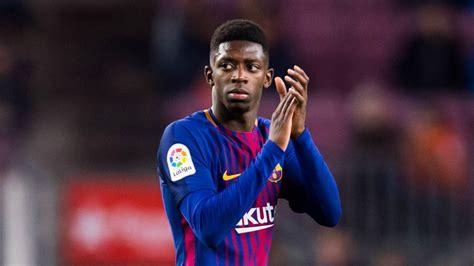 ousmane dembélé goals for barcelona breaking news barcelona s dembele out for up to four weeks