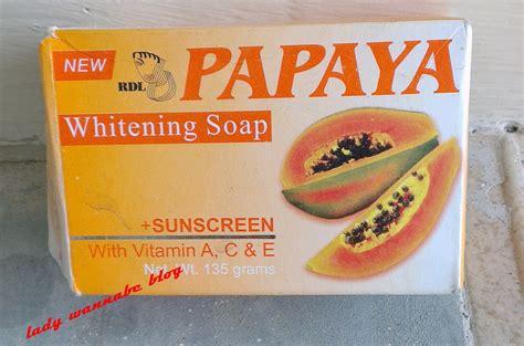 Rdl Whitening Treatment Day 8 Days Original papaya whitening soap does it work