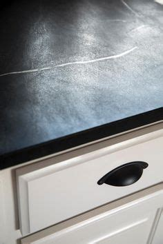 A Modest Soapstone - soapstone counter top w farmhouse sink the