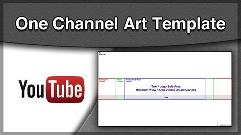 channel picture template one channel template