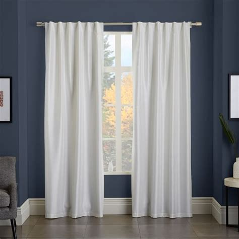 add blackout liner to curtains greenwich curtain blackout liner ivory west elm