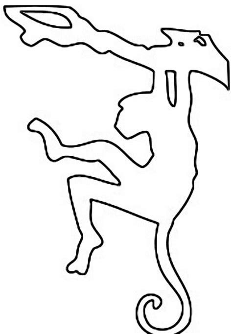 how to draw a swinging monkey animals free saw patterns