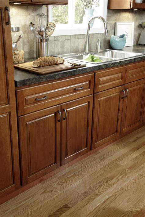 Multi Wood Kitchen Cabinets B Jorgsen Co St Moritz Kitchen Features Solid American Cherry Wood Frame Doors Drawers