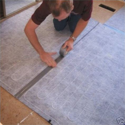 floor heating hardwood thermosoft electric radiant floor heating for laminate or