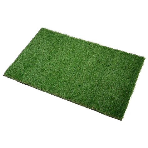 Artificial Turf Mat by Artificial Grass Mat Synthetic Landscape Pet Turf Lawn Back W Drainage Ebay