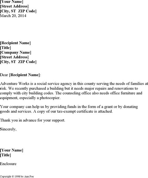 Request Letter Sle For Office Renovation Free Sle Request For Donation Letter Docx 21kb 1 Page S
