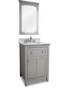 24 Inch Vanity Cabinet Hardware Resources Chatham Shaker Single 24 Inch Transitional Bathroom Vanity Grey