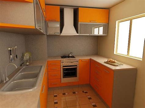 small kitchen designs layouts calming two tone brown colors with awning windows plus