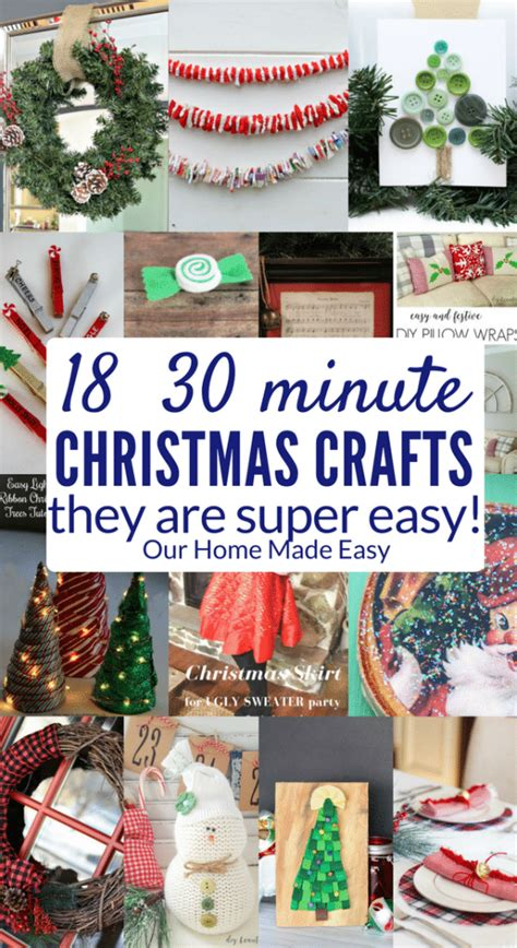 30 minute craft projects the 18 easiest 30 minute crafts our home