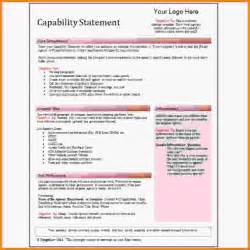capability statement template word capability statement template capability statement jpg