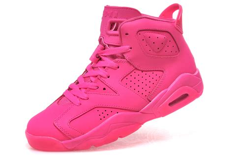 all pink basketball shoes 2018 air 6 gs all pink basketball shoes for
