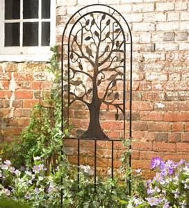 Metal Trellis For Sale Metal Garden Trellis With Tree Of Design Arbors