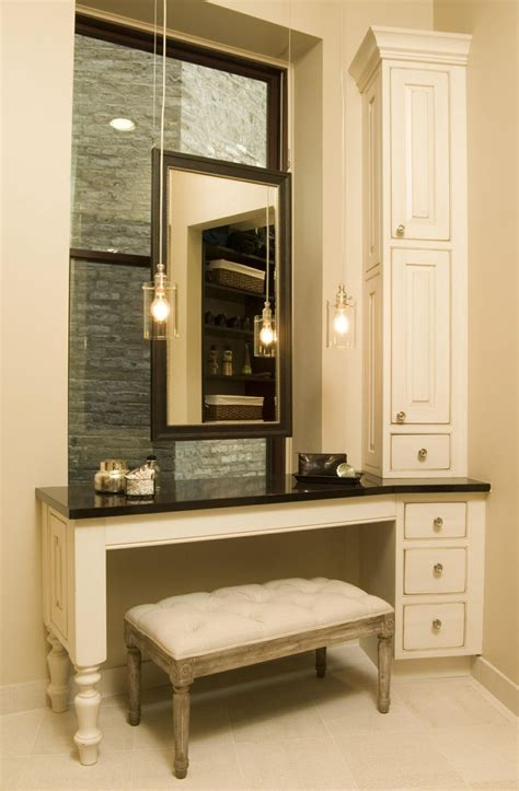 Bathroom Vanity With Makeup Best 25 Bathroom Makeup Vanities Ideas On Pinterest Makeup Storage Goals Small Makeup