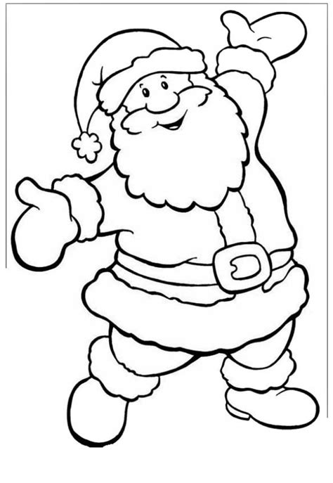 imagenes de santa claus animadas para dibujar im 225 genes navide 241 as para colorear en noche buena imagenes
