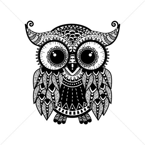 intricate owl coloring pages image gallery owl designs