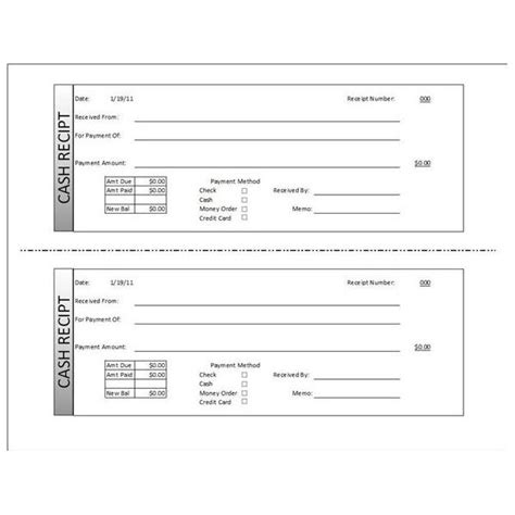 Manual Receipt Template by Manual Receipt Template Pictures Resume Ideas