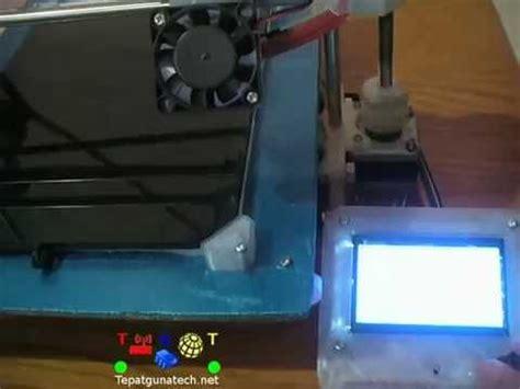 Printer 3d Paling Murah 3d Printer Murah Tepat Guna Tech Fitur Grafik Lcd N Bed