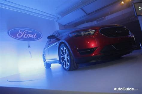 automotive repair manual 2013 ford taurus on board diagnostic system new york 2011 2013 ford taurus revealed with a 4 cylinder 187 autoguide com news