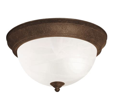 Flush Mounted Ceiling Light Fixtures by Kichler 8108tz Flush Mount Ceiling Fixture