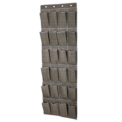 24 pockets hanging the door songmics 24 pocket hanging shoe storage the door shoe