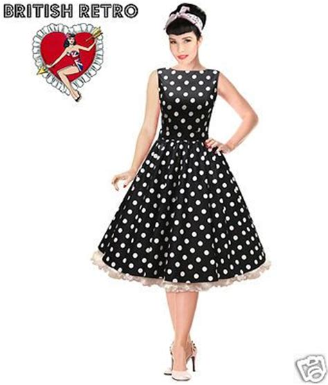 Ym Tk Maxi Vintage White black and white polka dot dress ym dress 2017