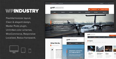 themes wordpress engineering wp industry industrial engineering wp theme by dannci