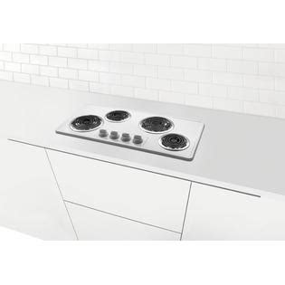 36 electric coil cooktop frigidaire ffec3603lw 36 quot electric cooktop with coil elements
