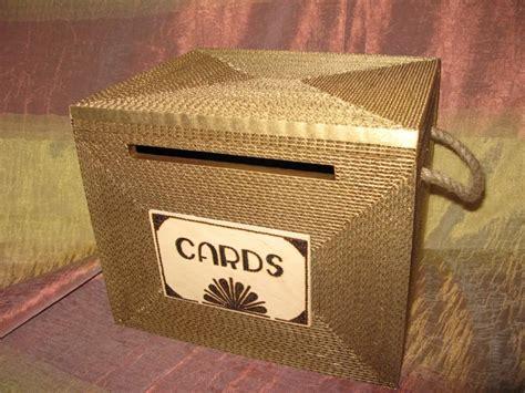 wedding box with lock wedding card box card box gatsby card box with lock
