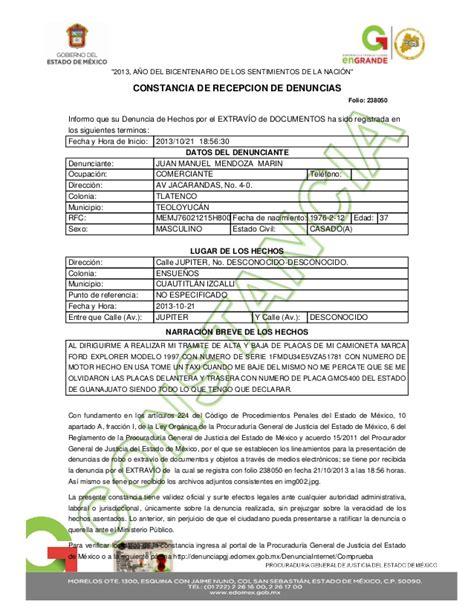 documentos para cambiar placas del estado de michoacan ford explorer 1997