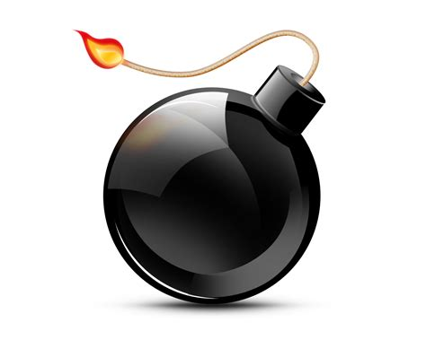 images of bombs psd black bomb icon free images at clker vector