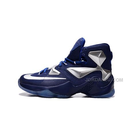 lebron basketball shoes cheap nike lebron 13 blue metallic silver basketball