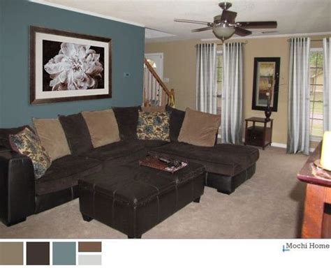 chocolate brown brown living rooms and basement ideas on pinterest