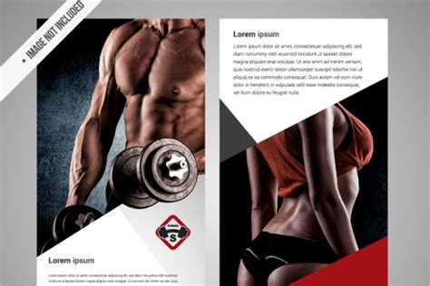 gym brochure templates free premium creative template