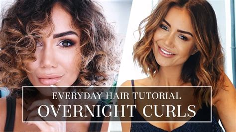 how to curl bob hair xuts without heat hair tutorial how i do my curly hair long bob hair