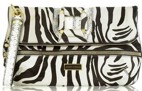Jimmy Choo Zebra Flat Clutch by Jimmy Choo Marin Zebra Clutch Fab Or Drab Purseblog