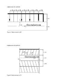 dimensions des parkings