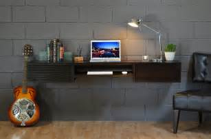 Floating Desks Wall Mounted by Modern Writing Desks 5 Popular Styles