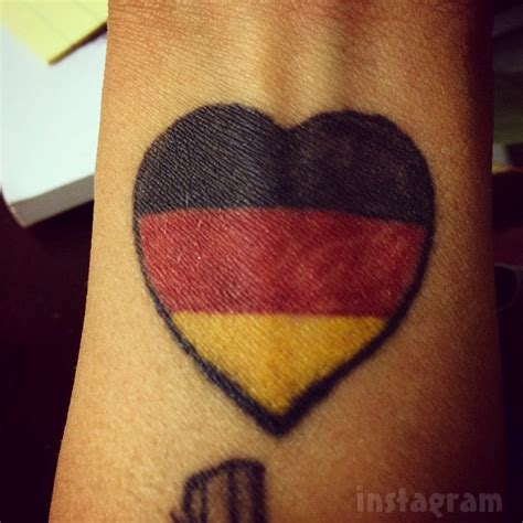 german flag tattoo german eagle flag