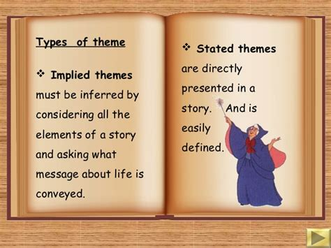 different types of themes in stories theme and short story