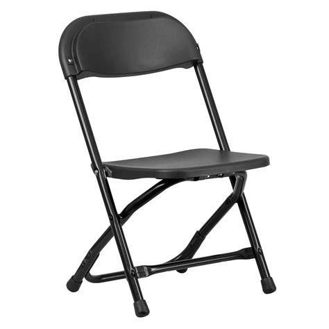 Black Plastic Folding Chairs by Flash Furniture Y Kid Bk Gg Black Plastic Folding