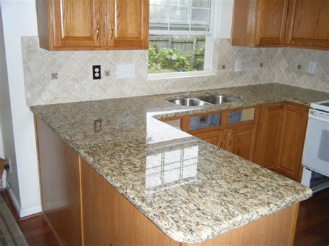 Kitchen Backsplash Ideas With Santa Cecilia Granite by Cream Glass Tile Backsplash Backsplash Ideas For