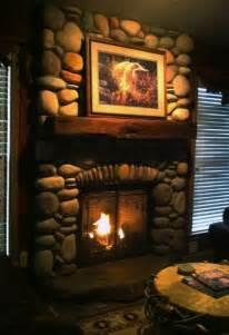 fireplace river rock river rock fireplace fireplaces