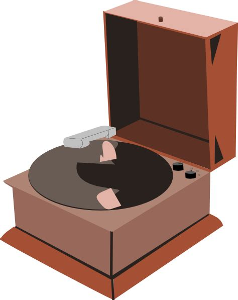 Record Player Clipart record clip at clker vector clip royalty free domain
